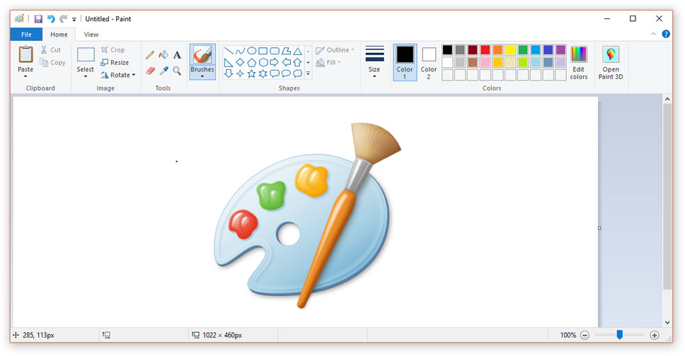 How to use Paint