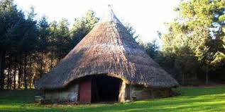 Building a Roundhouse in the Iron age.