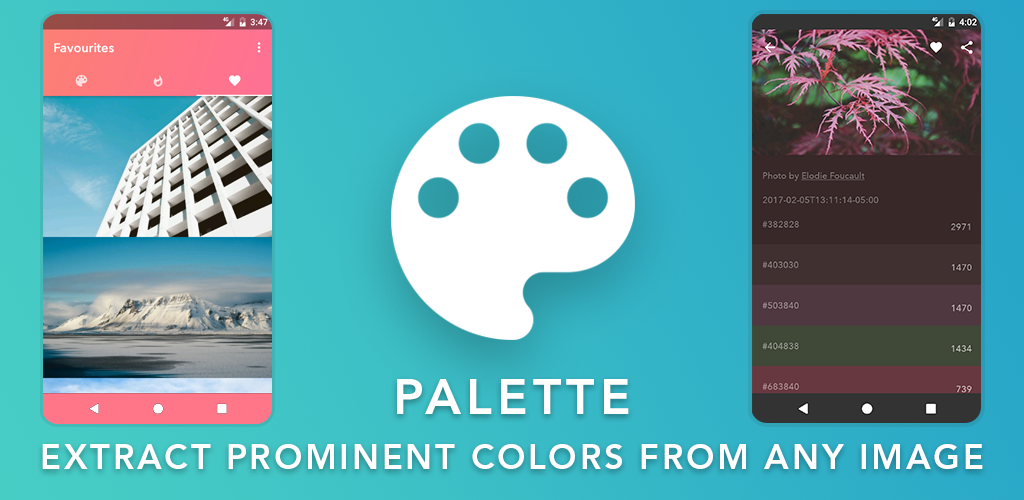 Palette - Extract Real/Live colors from any photo