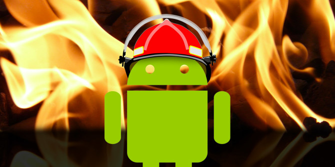 Apps to control phone heating issues