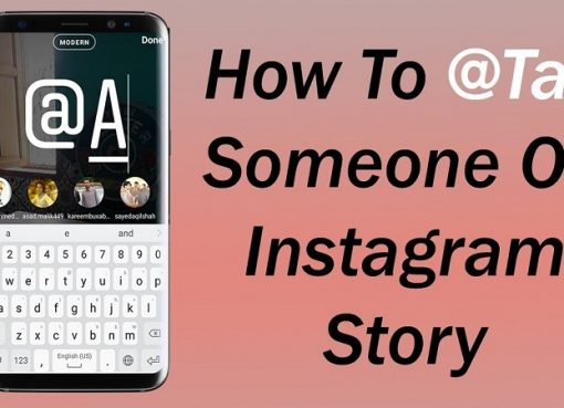 How to tag someone on Instagram story