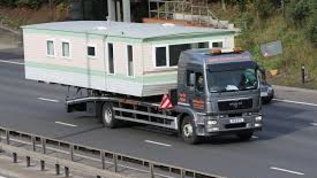 How to move a static Caravan.2