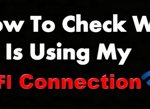 how to check who is using my wifi online