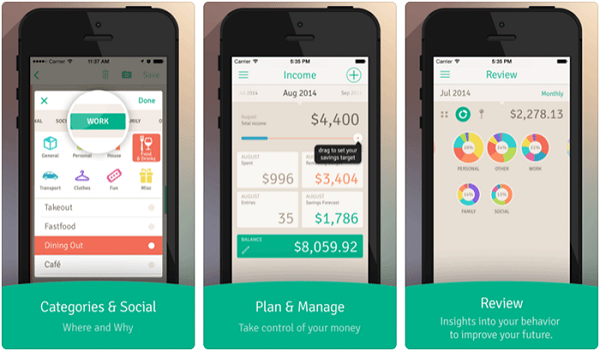 How to use wally app to control your expenses