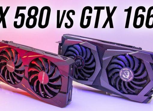 gtx 1660 vs rx 580