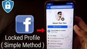 How to lock facebook profile?