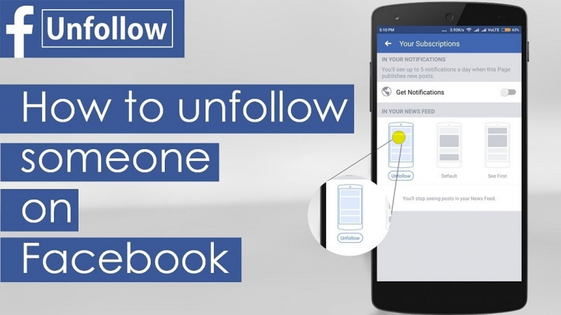 how to unfollow on facebook