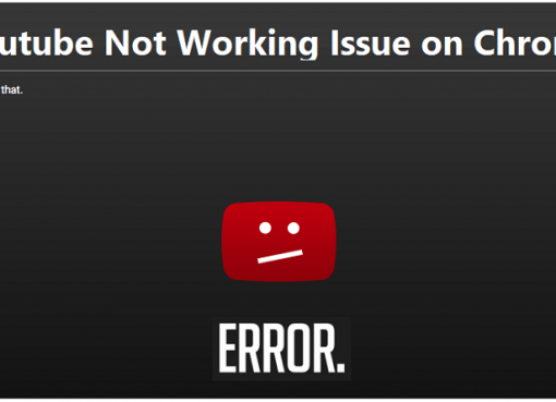 YouTube not working on chrome