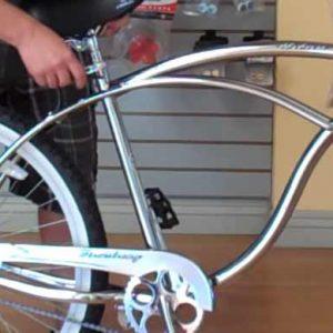 Beach Cruiser Bike Easy Fit