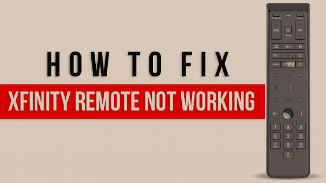 Xfinity Remote not working