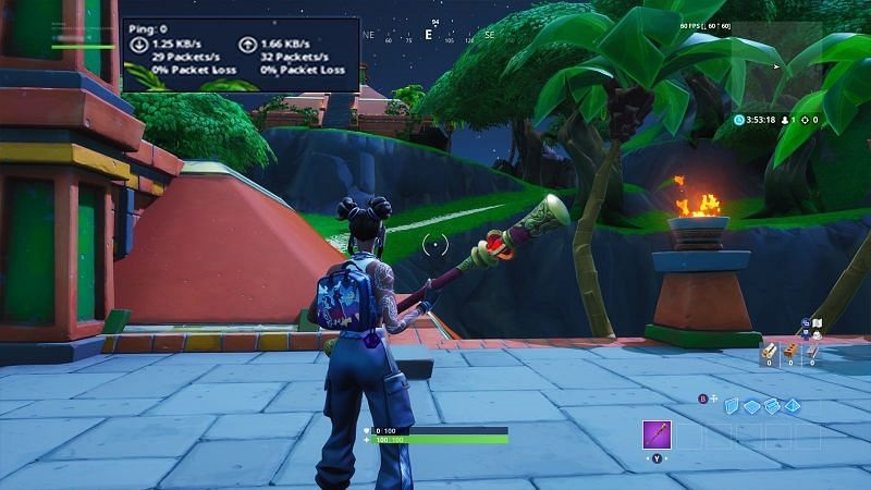 How to show ping in fortnite